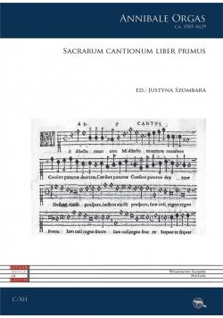 Sacrarum cantionum liber primus