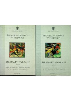 Witkiewicz Dramaty wybrane tom I i II
