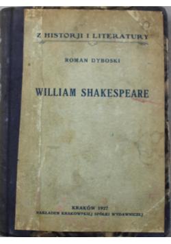 William Shakespeare 1927 r.