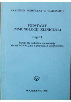 Podstawy immunologii klinicznej Część I