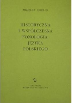Historyczna i współczesna fonologia języka polskiego