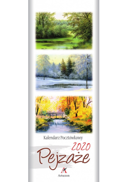 Kalendarz 2020 Pocztówkowy Pejzaże