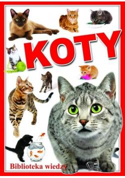 Biblioteka wiedzy. Koty
