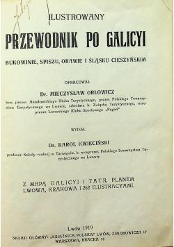 Ilustrowany przewodnik po Galicy 1919 r.