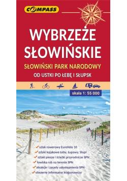 Mapa - Wybrzeże Słowińskie.. 1:55 000