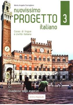 Progetto italiano Nuovissimo 3 ćwiczenia C1