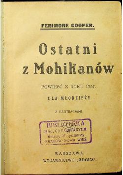 Ostatni z Mohikanów 1939 r.