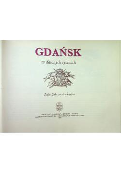 Gdańsk w dawnych rycinach
