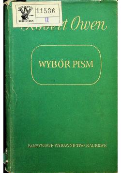 Owen Wybór pism