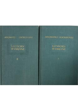 Mychajło Kociubynski utwory wybrane tomy od I do II