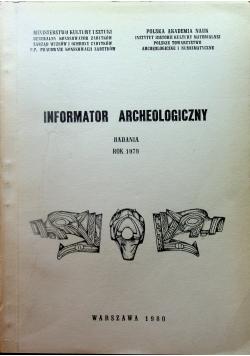 Informator Archeologiczny badania 1979