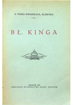 Bł Kinga 1924 r.