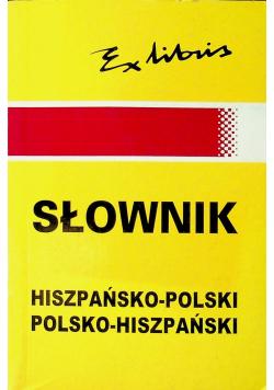 Słownik podręczny hiszpańsko polski polsko hiszpański