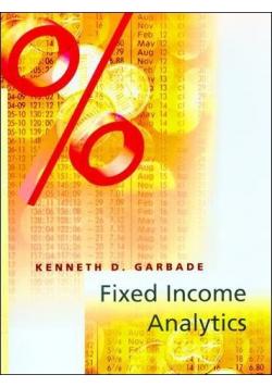 Fixed income analytics