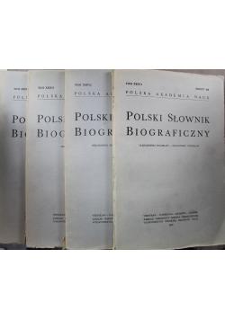 Polski słownik biograficzny Tom XXIV 4 Zeszyty