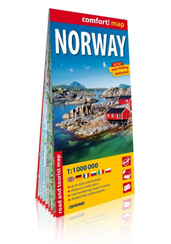 Comfort! map Norwegia (Norway) 1:1 000 000