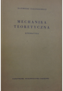 Mechanika teoretyczna kinematyka