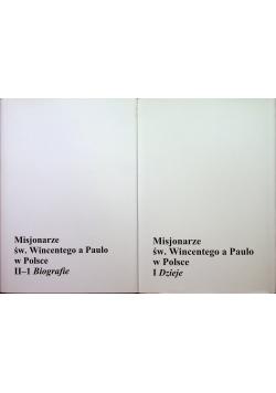 Misjonarze św Wincentego a Paulo w Polsce 2 tomy