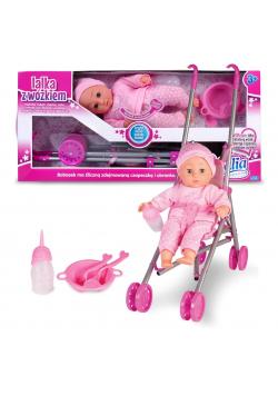 Lalka Natalia z wózkiem