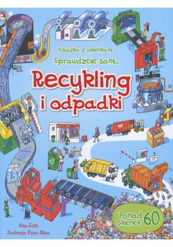 Recykling i odpadki książka z okienkami