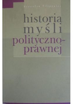 Historia myśli polityczno-prawnej