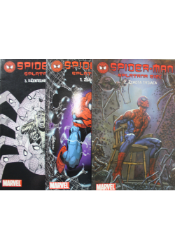 Spider Man splątana sieć 3 Tomy
