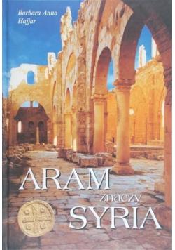 Aram znaczy Syria