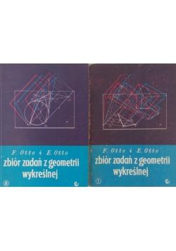 Zbiór zadań z geometrii wykreślnej Część I i II