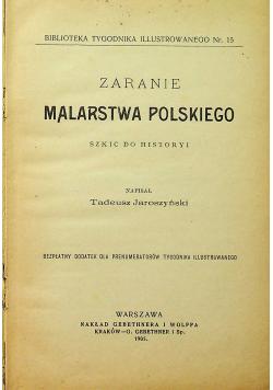 Zaranie Malarstwa Polskiego 1905 r.