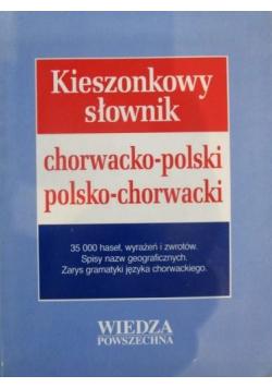 Kieszonkowy słownik chorwacko - polski polsko - chorwacki