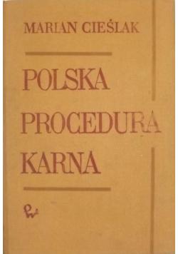 Polska procedura karna