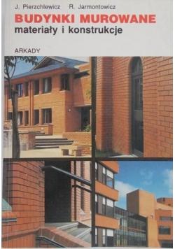 Budynki murowane materiały i konstrukcje