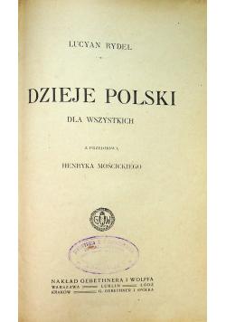 Dzieje Polski 1919 r.