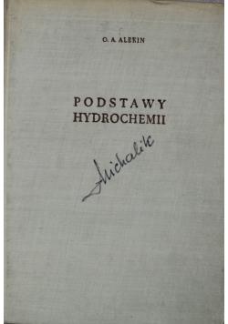 Podstawy hydrochemii