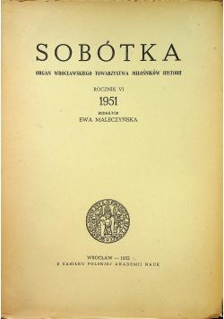 Sobótka Rocznik VI 1951