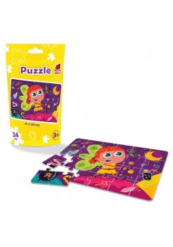 Puzzle edukacyjne - Wróżka
