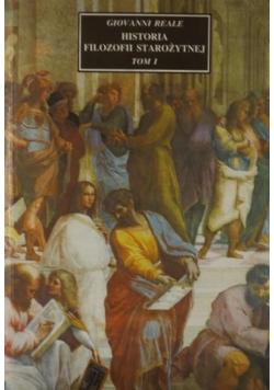 Historia filozofii starożytnej Tom I