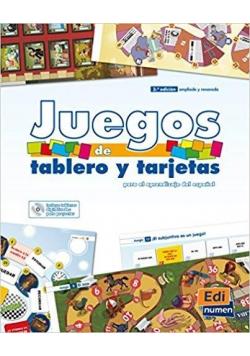 Juegos De Tablero y Tarjetas Para El Aprendizaje..