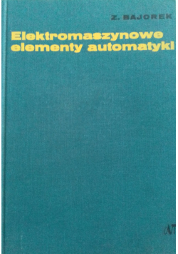 Elektromaszynowe elementy automatyki