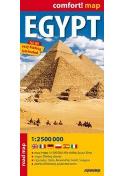 Comfort!map Egipt (Egypt) 1:2 500 000 mapa