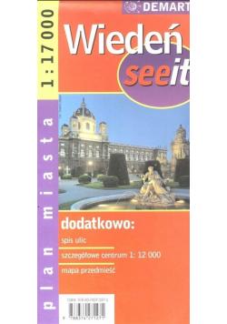 Wiedeń see it - plan miasta 1:17 000
