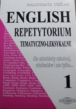 English repetytorium tematyczno leksykalne dla młodzieży szkolnej studentów i nie tylko 1
