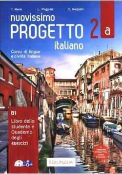 Progetto italiano Nuovissimo 2A podr.+ ćw.+CD/DVD