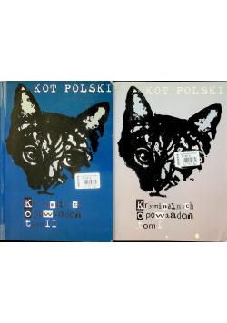 Kot Polski Kryminalnych opowiadań tom I i II