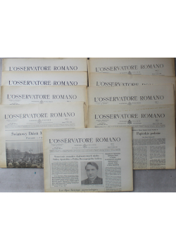 L Osservatore Romano 12 numerów