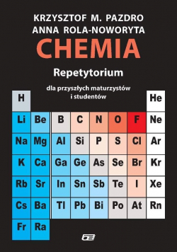 Chemia Repetytorium dla przyszłych maturzystów