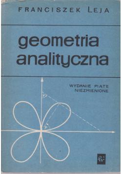 Geometria analityczna wydanie piąte niezmienione