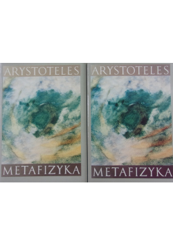 Metafizyka 2 tomy