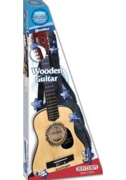 Drewniana gitara