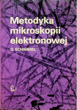Metodyka mikroskopii elektronowej